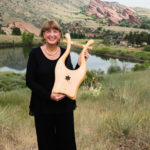 Israeli lyre at the Red Rocks Amphitheater in Denver, CO.
