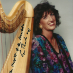 """""""Harpist of the President"""" as quoted by former President George H. Bush."""