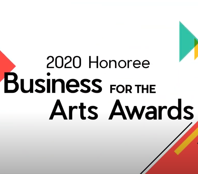 CBCA 2020 Business for the Arts Awards